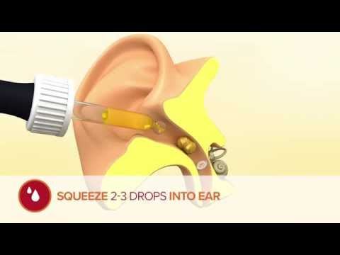 How to use Otex Olive Oil Ear Drops