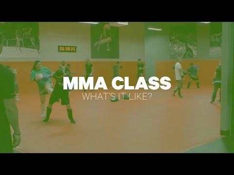 MMA Class: What's It Like?