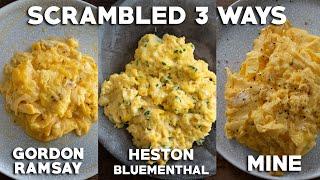 Perfect Scrambled Eggs Gordon Ramsay and Heston Blumenthal