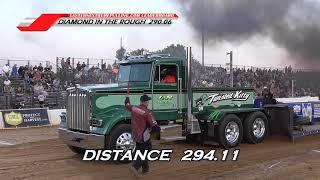 Big Rigs Series pulling at The Buck June 22, 2019