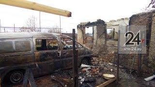 В Нижнекамске при пожаре скончался дачник