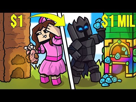 Minecraft: 1 DOLLAR FURNACE VS 1,000,000 DOLLAR FURNACE!!! Crafting Mini-Game
