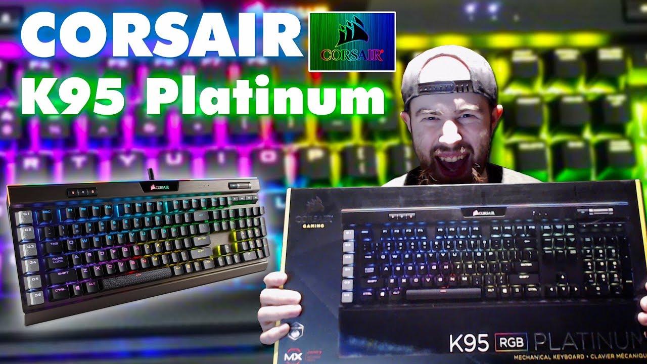 Corsair K95 Platinum RGB Unboxing and Setup
