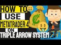 HOW TO TRADE FOREX USING METATRADER 4 TRIPLE ARROW SYSTEM  Make Money From Your Phone  MT4