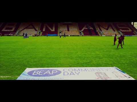 BEAP Community Partnership | Bradford City Football Community Day