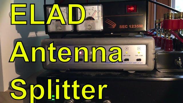 The ELAD ASA-15 antenna splitter