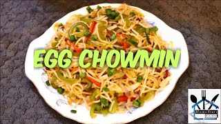 NEW Resturant style egg chowmein || super delicious homemade cooking