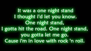 Exit  This Side - One Night Stand - With Lyrics