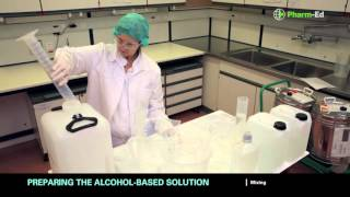 Tutorial of local production of alcohol-based solution (WHO formulation)