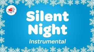 Silent Night Christmas Instrumental Music | Karaoke Christmas Song