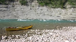 North Saskatchewan River Canoeing - Bighorn Dam To Rocky Mountain House - Day 2