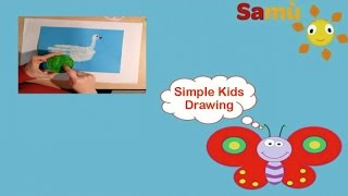 DOVE & PEACE: ORIGINAL PRESCHOOL ACTIVITIES - KIDS SIMPLE DRAWING for children, kids, babies