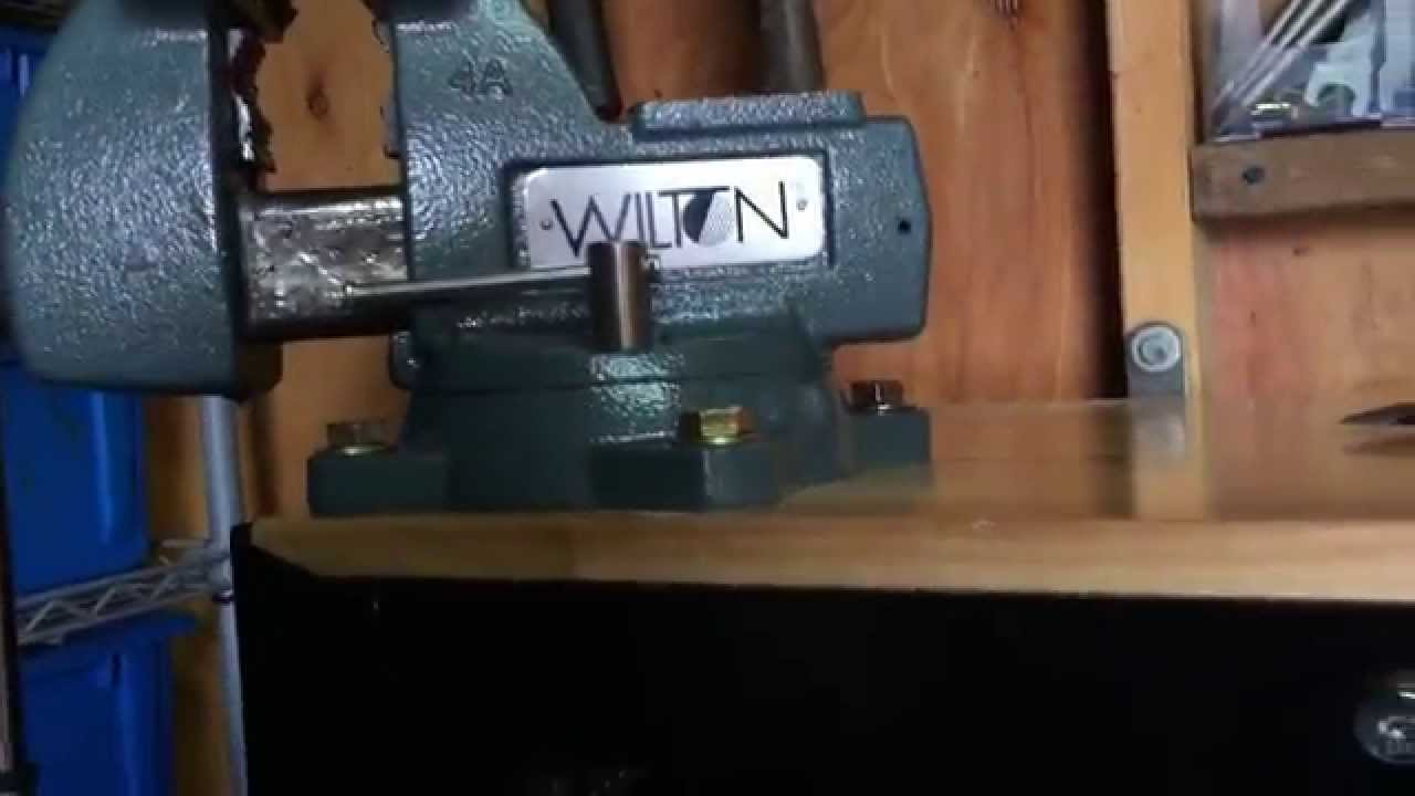 How To Properly Mount A Vice To Any Surface Youtube