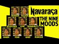 Navarasas Video - Nine moods, facial expressions, classical dance of India