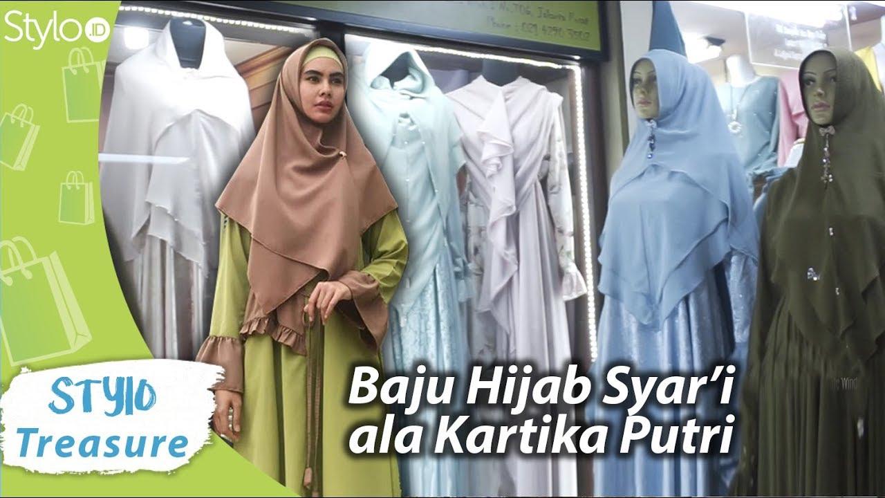 Model Baju Gamis Muslim Hijab Syar I Ala Kartika Putri Untuk Lebaran Ramadan 2019 Di Itc Cempaka Mas Youtube