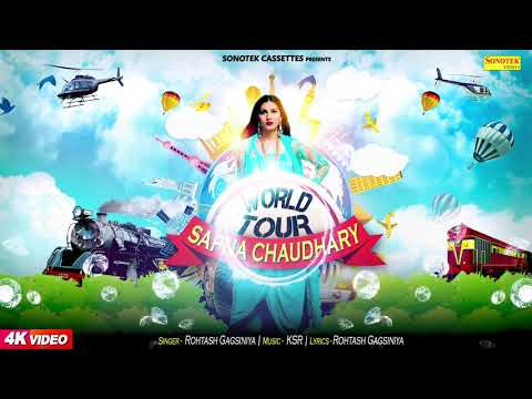 World Tour | Rohtash Gagsiniya | Sapna Choudhary | Latest Haryanvi Song | Sonotek Sapna Official
