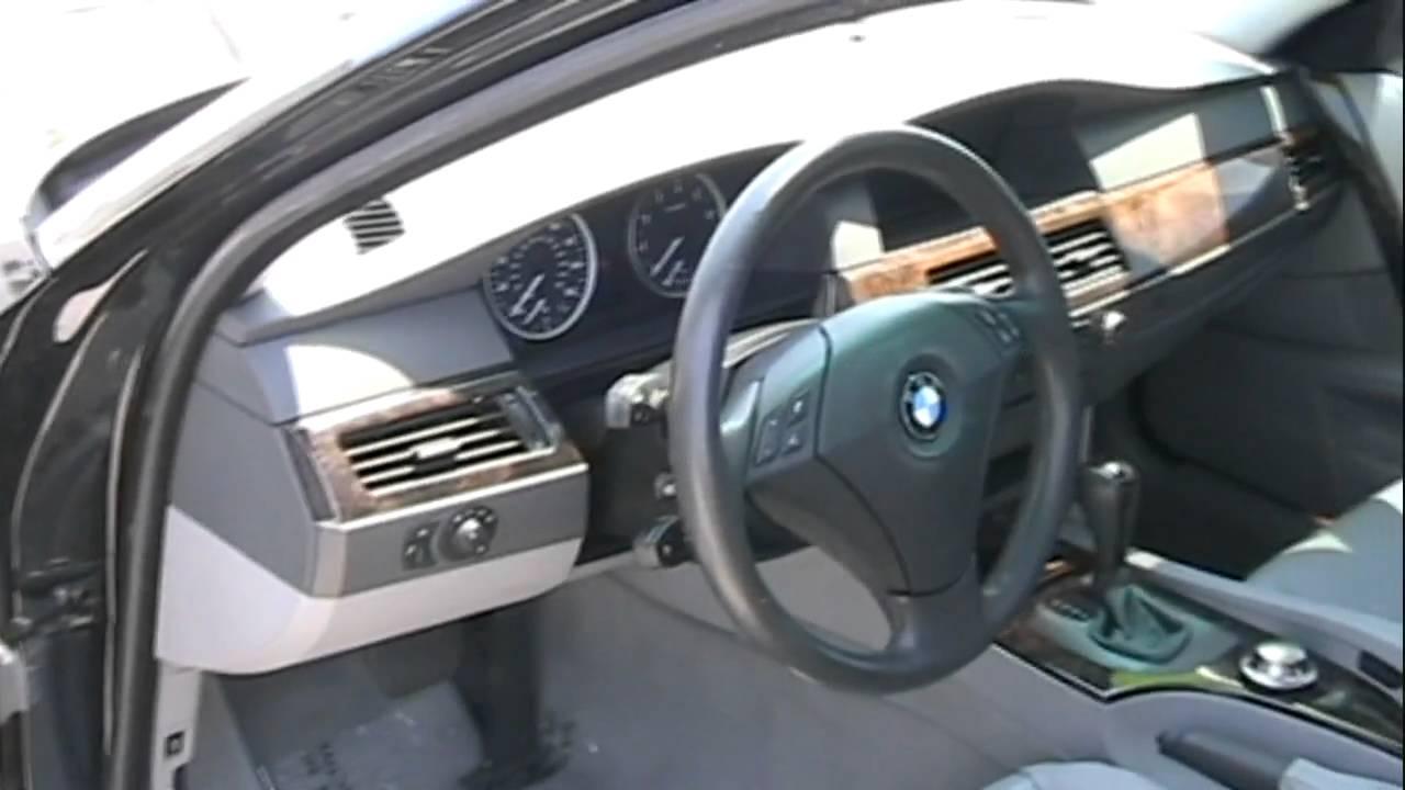 bmw 550i 2006 interior