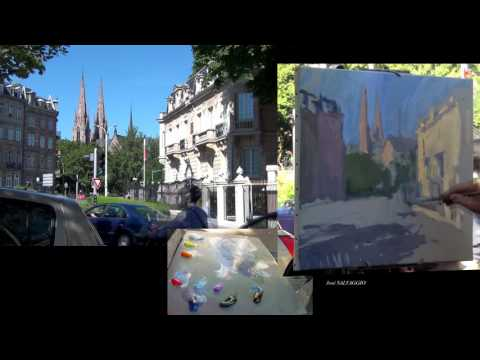José SALVAGGIO plein air painting 43 Sunbeam