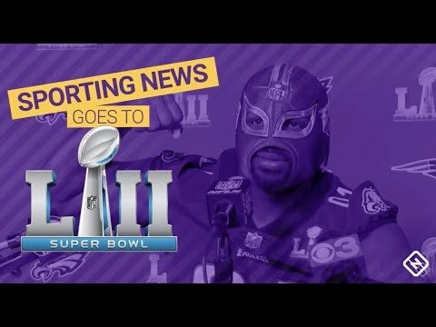 Sporting News Goes To Super Bowl 52 - EPISODE 2