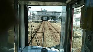 西鉄3000形水都特急福岡天神行き【筑紫駅通過】