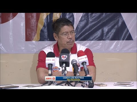 Presscon: NLEX vs. San Miguel | PBA Philippine Cup 2018