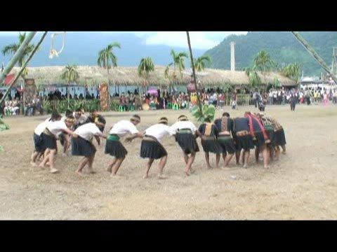 魯凱族傳統競技活動-勇士舞