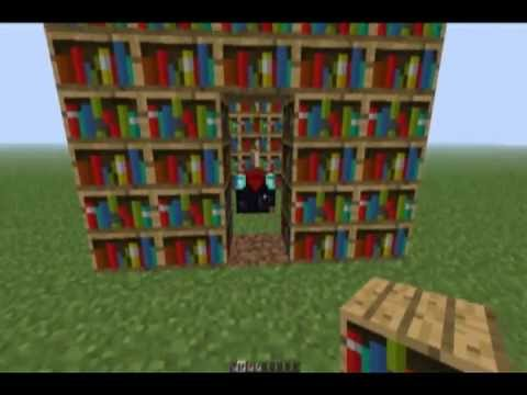Minecraft How To Get A Level  Enchantment YouTube - Enchantment table bookshelves