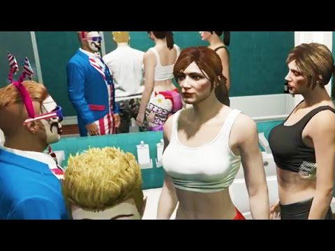 CRAZIEST HOUSE PARTY EVER! (GTA 5 FUNNY MOMENTS) - AZZYLAND