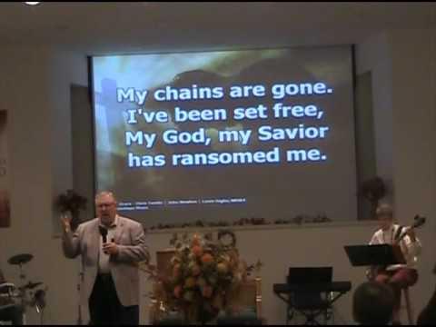 First Baptist Church Worship service