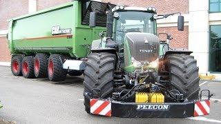 FENDT Tractors | Claas Jaguar 950 | Hawe Abschiebewagen | Grassilage | AgrartechnikHD