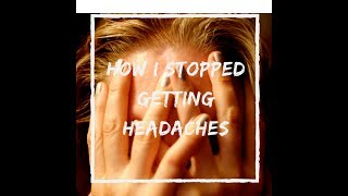 Everyone gets a migraine or a headache, relief or cure with home re...