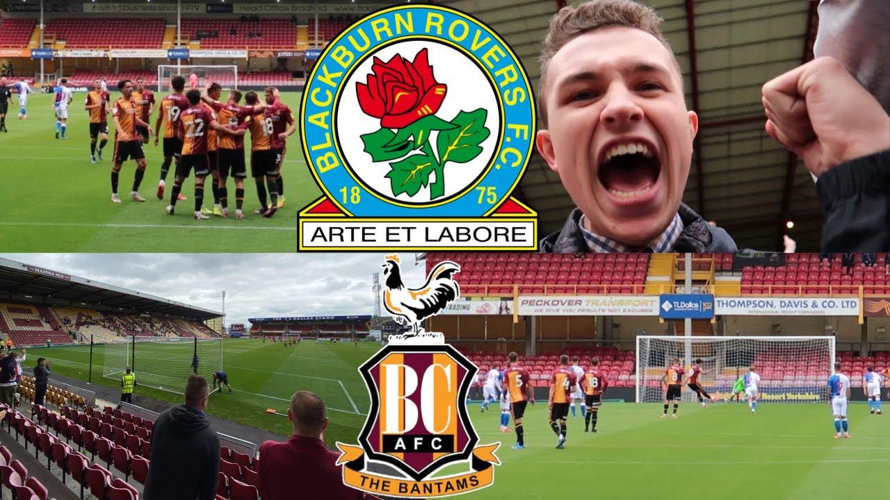 ANOTHER PROMISING DISPLAY - Bradford City 2-0 Blackburn Rovers Vlog