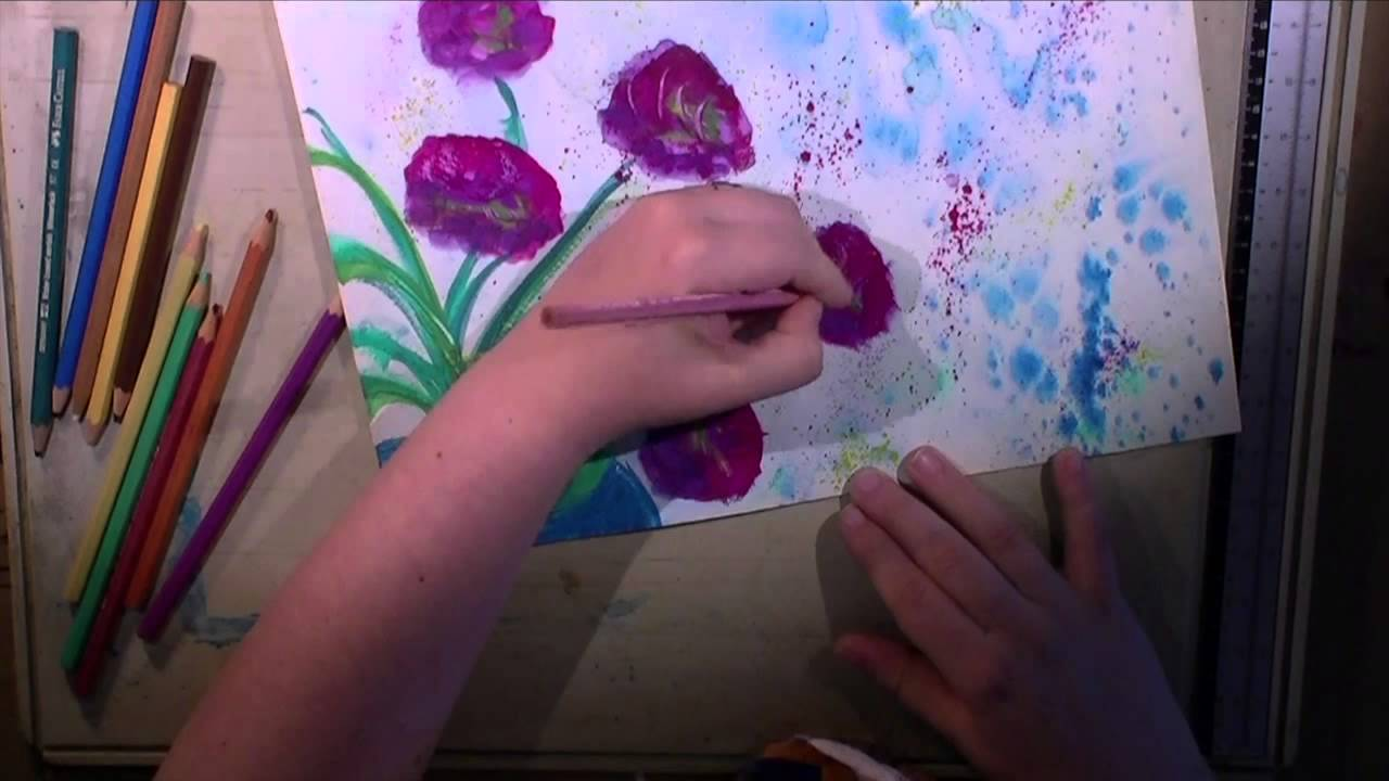Watercolor - Flowers in a Vase - YouTube on flower wreath painting, bird-and-flower painting, flower bowl painting, flower box painting, flower butterfly painting, bottle flower painting, flower oil paintings christmas, flower bed painting, flower table painting, candle painting, flower girl painting, flower white painting, frame painting, flower light painting, modern palette knife painting, flower mirror painting, flower vases with flowers, flower still life oil paintings, flower window painting, flower stand painting,