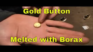 MBMMLLC.com: Melting gold into a button using a torch and borax