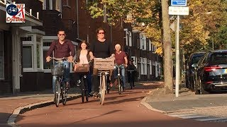 Cycling on a beautiful fall day in October 2017. Filmed in 's-Herto...