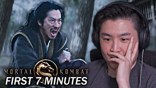 Mortal Kombat 2021 - First 7 Minutes Of The Movie Reaction