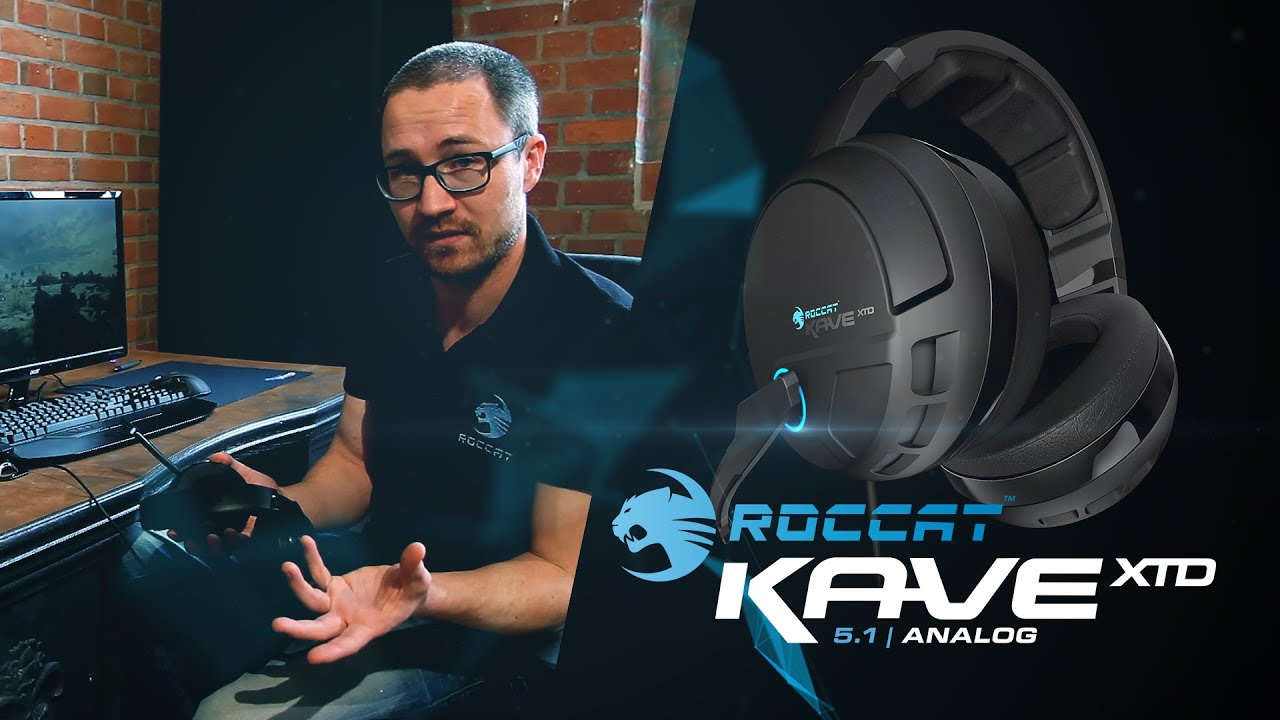 67f3ff8634a ROCCAT Kave XTD 5.1 Analog | An In-depth View - YouTube