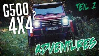 JP Performance - Mercedes G500 4x4² Adventures | Teil 1
