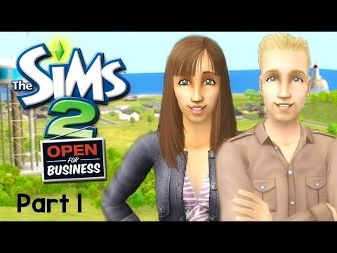Let's Play : The Sims 2 Open For Business (Part 1) - Let's Get Started!