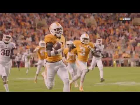 2016-2017 TENNESSEE VOLS FOOTBALL PUMP UP
