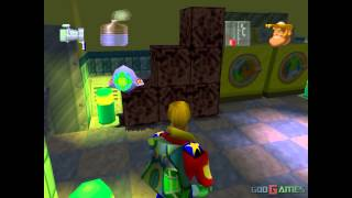 Rosco McQueen: Firefighter Extreme - Gameplay PSX (PS One) HD 720P (Playstation classics)