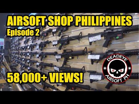 Airsoft Shop Walk Through | Episode 2 | Airsoft Philippines | Asia