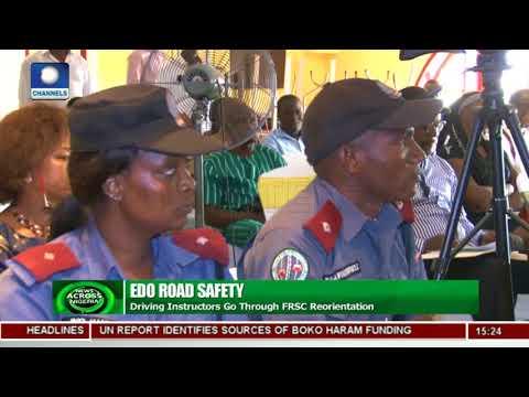 Edo Driving Instructors Go Through FRSC Orientation