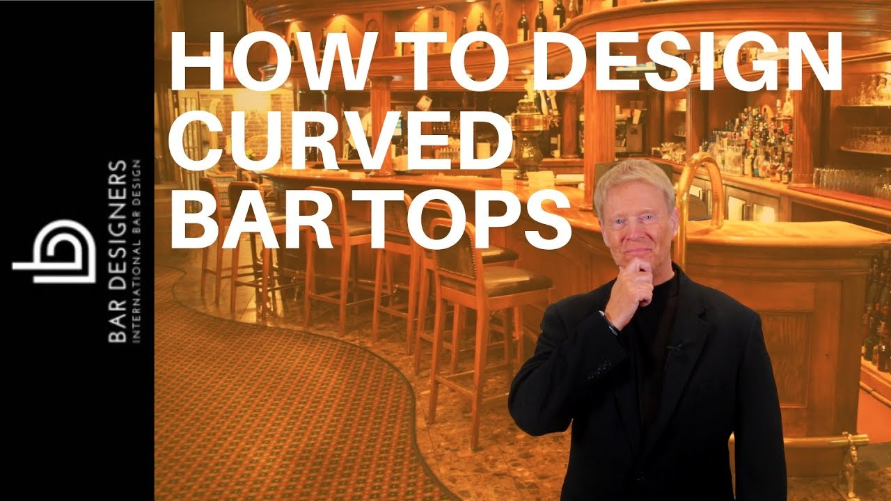 Make a bar how to design and build a curved bar top for What to use for a bar top