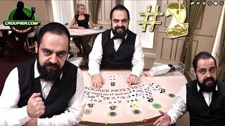 ONLINE BLACKJACK SIDE BETS vs £2,500 Part 2! Live Casino Dealer CEZAR at Mr Green!