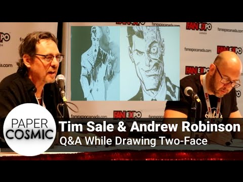 Comic Book Artists Tim Sale and Andrew Robinson Q&A   Expo 2016