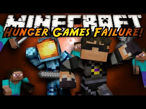 Minecraft Hunger Games : NONSTOP FAILURE!
