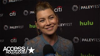'Grey's Anatomy': Ellen Pompeo On Meredith Grey & Nathan Riggs