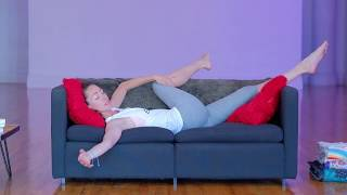 Couch Yoga to Chill Out