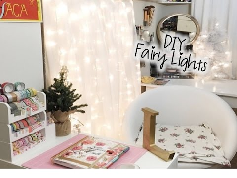 Diy Fairy Lights Youtube